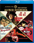 Alfred Hitchcock: 4-Film Collection: Warner Archive Collection (Blu-ray): Suspicion / I Confess / Dial M For Murder / The Wrong Man